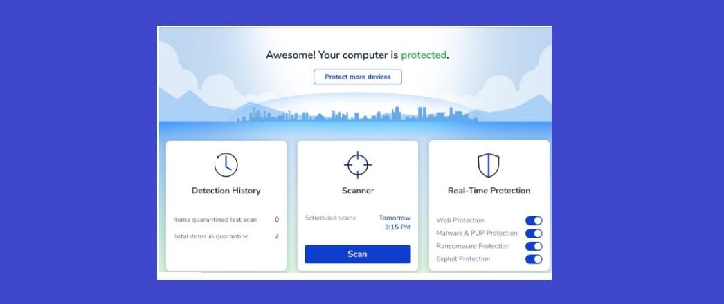 Malwarebytes Anti-Malware Free edition