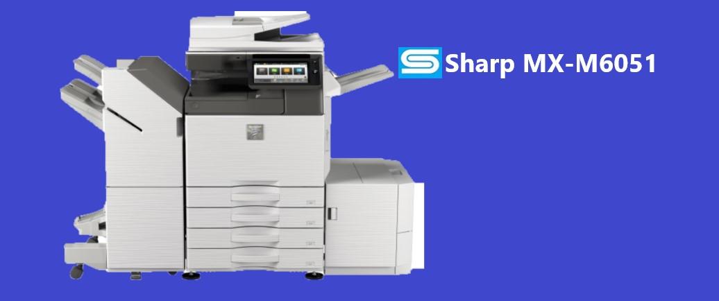 Sharp MX-M6051 Driver Download